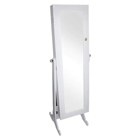 White Jewelry Armoire Target by Jewelry Armoire White Ore International Target