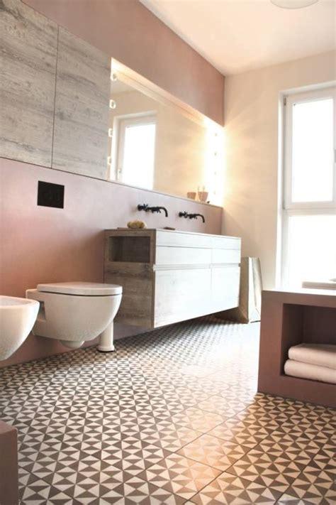 zementfliesen dusche badezimmer skandinavischen stil