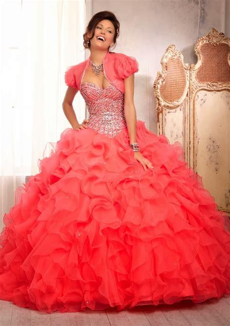 vestidos de 15 color salmon umagenes moda de 15 a 241 os 187 elegantes vestidos de color salm 243 n de xv 2