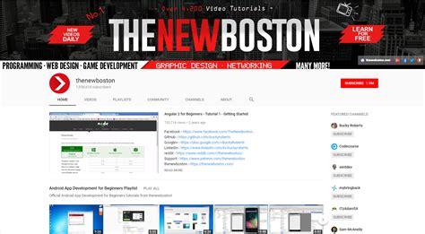 wordpress tutorial new boston the top five best web development youtube channels