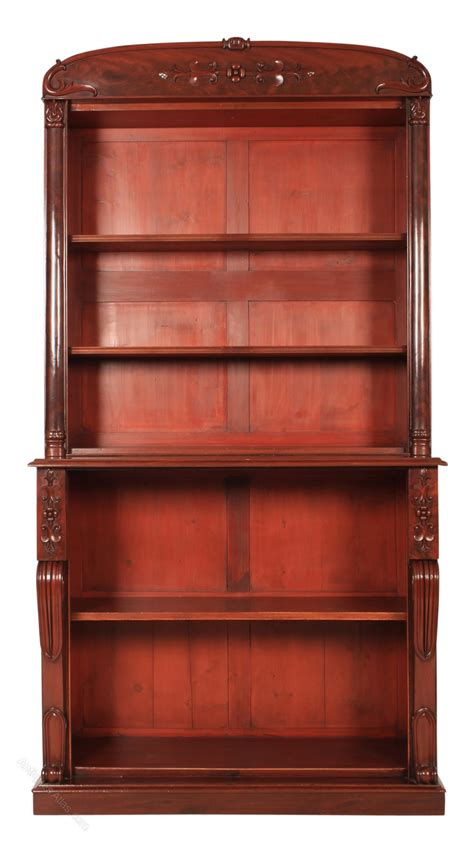 Open Bookcase by Large Library Open Bookcase Antiques Atlas