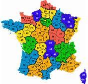 Carte De France Avec Departements
