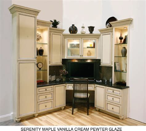 Using Kitchen Cabinets For Home Office by Houzz Home Design Decorating And Renovation Ideas And