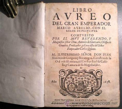 libro historia antigua libro aureo del gran emperador marco aurelio co comprar libros antiguos de historia antigua en