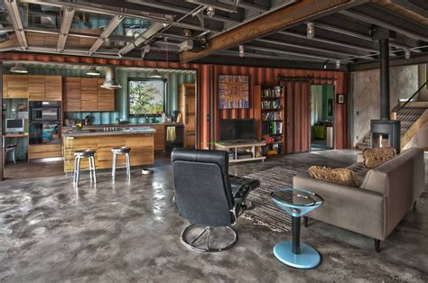 inside storage container homes design container home