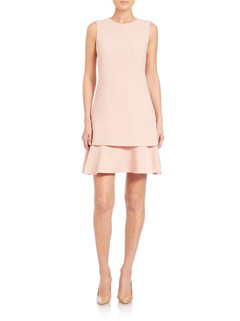 Pink Layered Dress by Theory Malkan Layered Dress In Pink Lyst