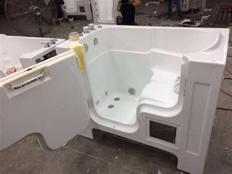 acrylic bathtub walk in tub shower combo lowes walk in