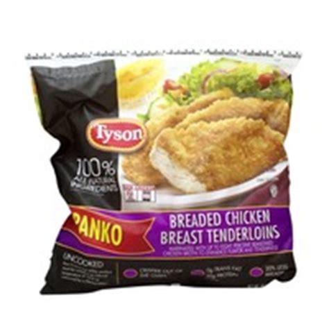 tyson breaded chicken breast tenderloins from costco