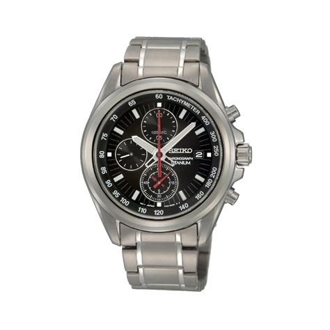 buy seiko s titanium chronograph sndc93p1 at j