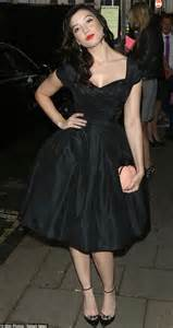 daisy lowe adds gothic twist to vampy display at glamour