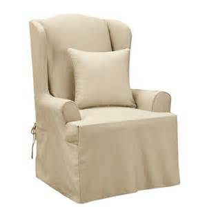 supreme wing chair slipcover furnish