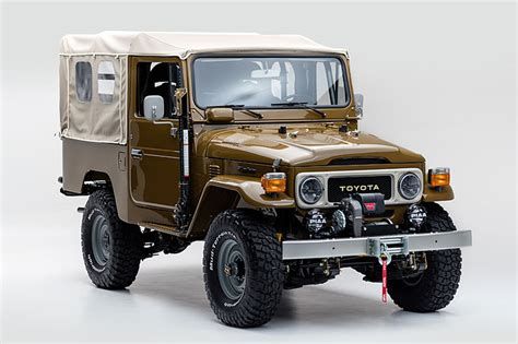 toyota jeep inside this vintage 81 toyota land cruiser is perfectly