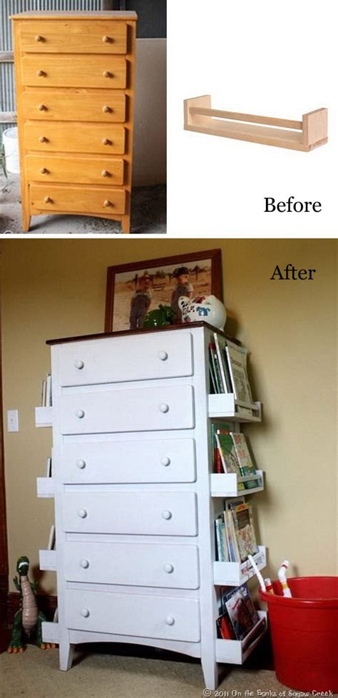 Ladder Desk And Bookcase 40 Awesome Makeovers Clever Ways With Tutorials To