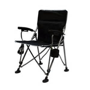 portable aviator armchair black mac sports
