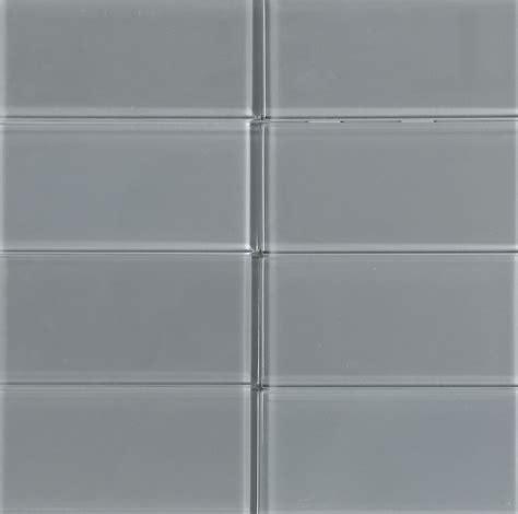 ethereal 3x12 cool gray subway glass tile kitchen bathroom gray glass subway tile