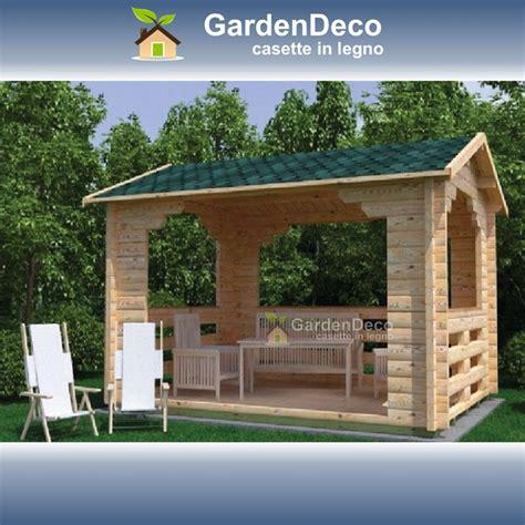 gazebo giardino legno gazebo in legno prefabbricato da giardino 4x3 gardendeco