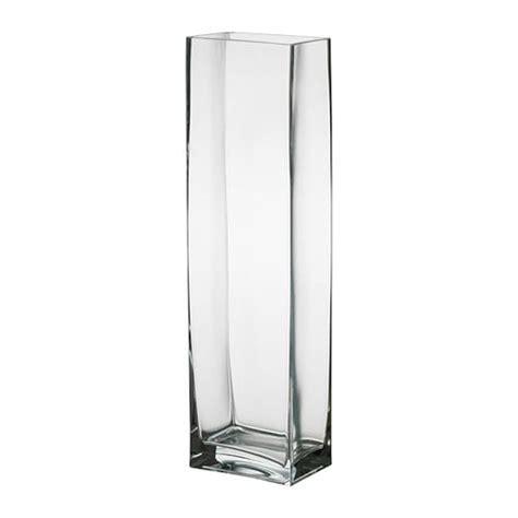 ikea vasi vetro trasparente rektangel vaso ikea