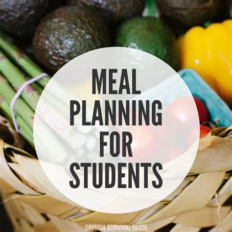 Easy Detox Diets For College Students by Best 25 College Meal Planning Ideas On