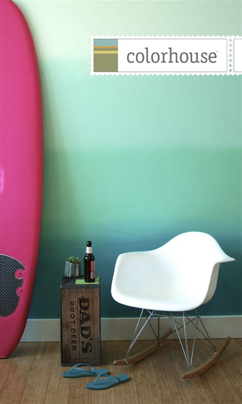 colorhouse paint make this ombre wall colorhouse