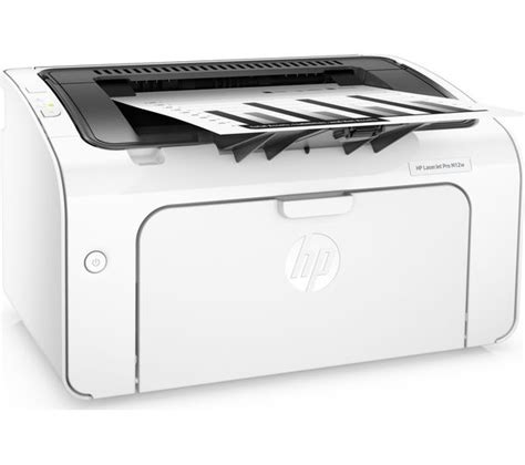 Printer Laserjet Wifi hp laserjet pro m12w monochrome wireless laser printer deals pc world