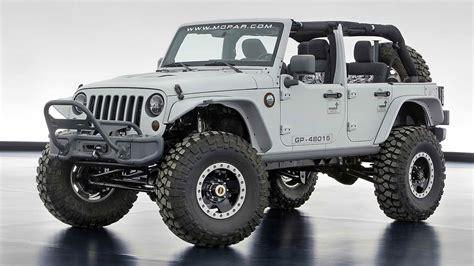 Jeep Wrangler Unlimited Mopar Mopar Recon Jeep Wrangler For Sale Release Date Price