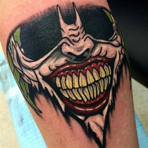 joker getting tattoo if you thought the joker s tattoos were insane check out
