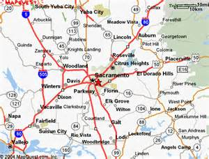 map of sacramento california and surrounding cities immigration doctor uscis certified civil surgeon