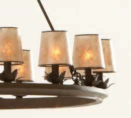 Mini Drum Chandelier Shades Mini Mica Drum Chandelier Shade Set Of 3 Pottery Barn