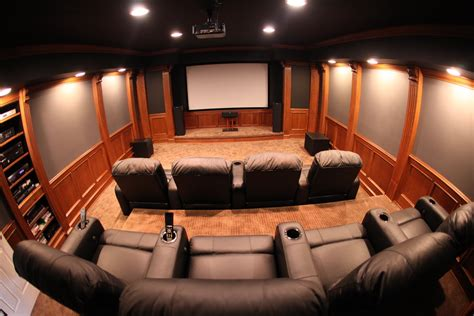 Home Theatre Interiors Mhi Interiors Theater Room Novi Mi