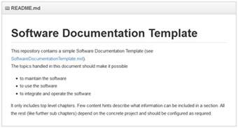 Software Documentation Template by Franz Betteraey