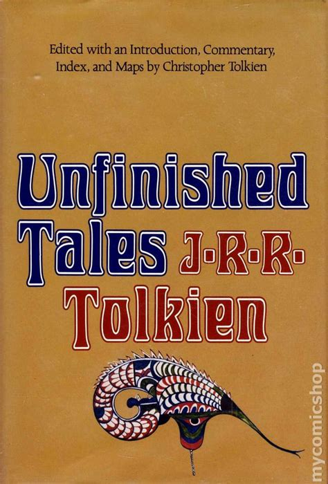 unfinished tales unfinished tales of numenor and middle earth hc 1980 comic books