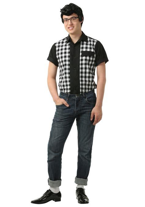 s 50s bowler shirt