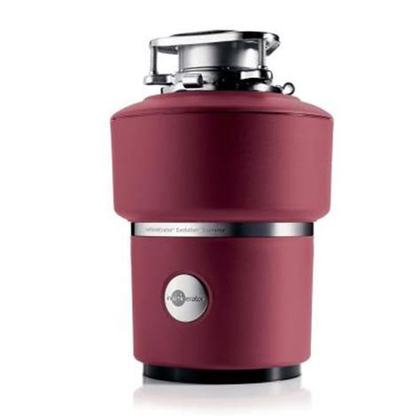 Home Depot Garbage Disposal by Insinkerator Evolution Supreme 1 Hp Continuous Feed Garbage Disposal Supreme The Home Depot