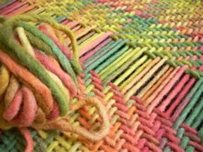 Weave It Rug Loom Punto Espiga En Telar Cuadrado Telar Cuadrado Regulable