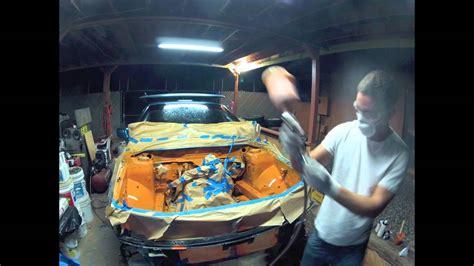 spray painting engine bay engine bay painting my rally car