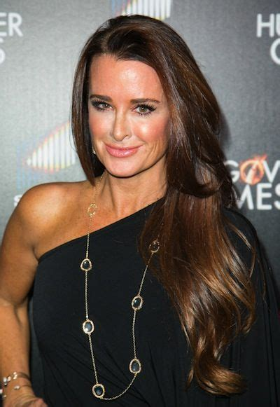 does kyle richards wear hair extensions 1187 best images about hair envy on pinterest naturally