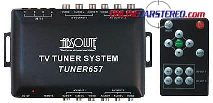 Tv Tuner Outboard absolute tuner657 tv tuner system with remote at ocsdeals