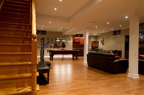 modern basements contemporary basement best home decoration world class