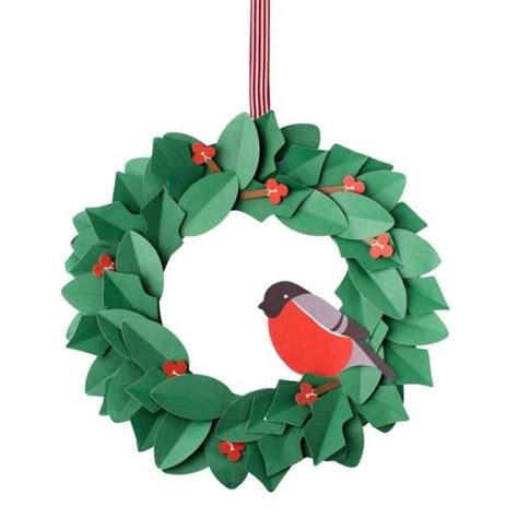 addobbi natalizi per porte ghirlande natalizie di carta foto 3 38 design mag