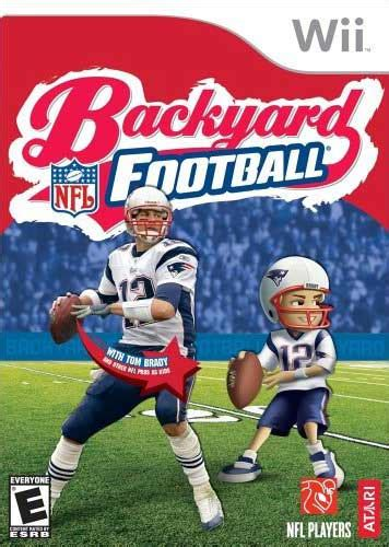 backyard football wii backyard football nintendo wii game
