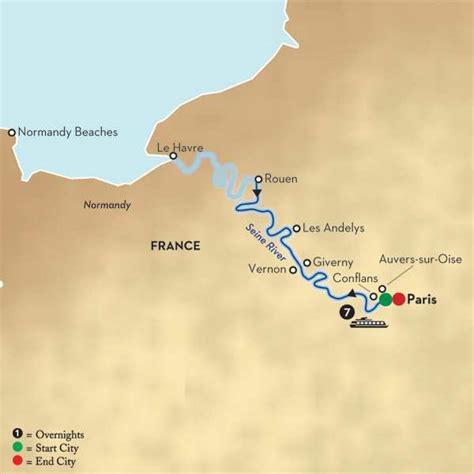 seine river map seine river cruises globus 174