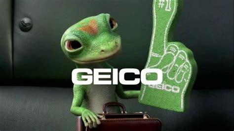 geico insurance gecko geico tv commercial foam finger gecko journey ispot tv