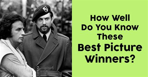 How Well Do You These Hotels by How Well Do You These Best Picture Winners Quizpug