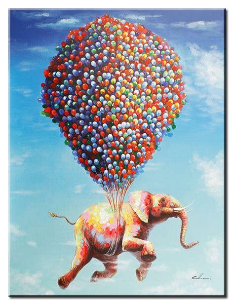 moderne kunstwerke moderne kunst flying jumbo leinwandbild 252 berarbeitete