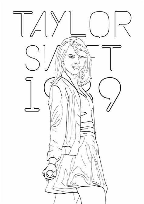 coloring pages name taylor free taylor swift coloring pages printables coloring home