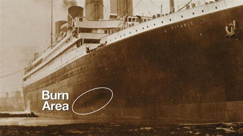 Titanic Sinking Spot by Documentary Identifies Second Culprit In The Sinking Of