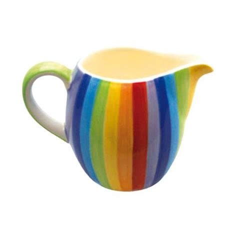 small rainbow jug