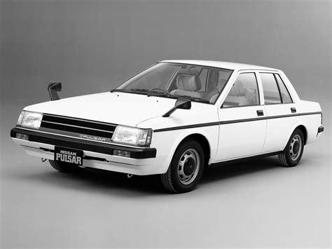 nissan pulsar 1982 nissan pulsar sedan n12 06 1982 05 1986
