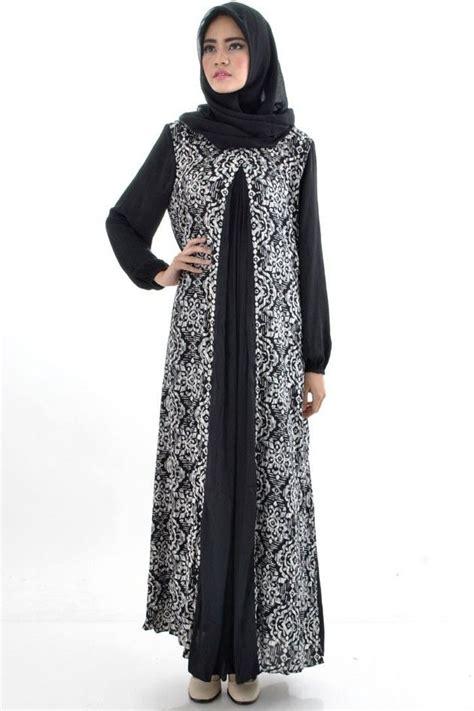 Gamis Batik 14 model gamis batik terbaru dan modern yang mencuri perhatian
