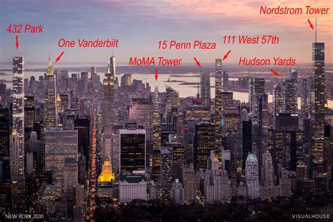 Duplex Apartment Plans by Imagining The Megatower Filled Manhattan Skyline Of 2030
